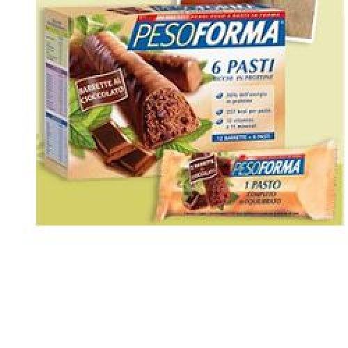 PESOFORMA BARR CIOCC LATTE 12P