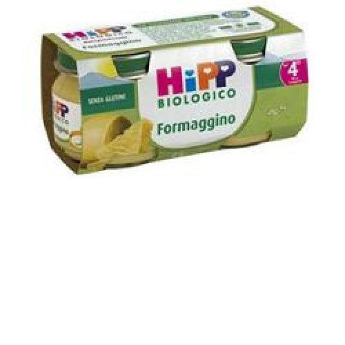 HIPP BIO HIPP BIO OMOGENEIZZATO FORMAGGINO AI TRE FORMA G GI2X80 G