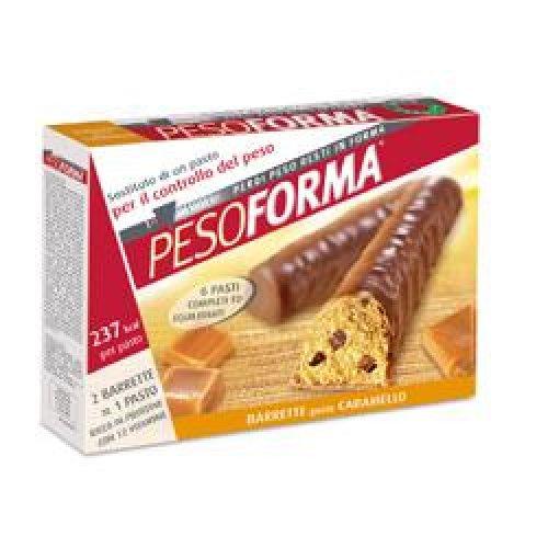 PESOFORMA BARR CIOCC CARAM 12P