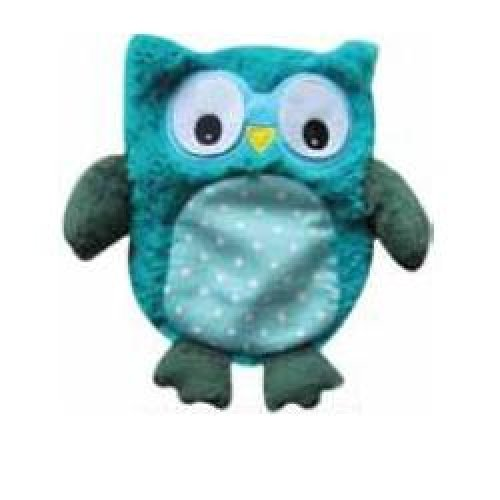 WARMIES PELUC TERM HOOTY BLU