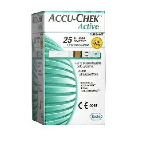 ACCU-CHEK ACTIVE 25STR