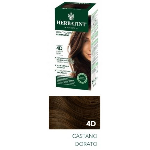 HERBATINT 4D CASTANO DORATO 150 ML