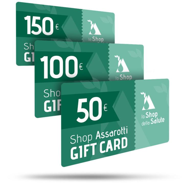 Gift Card Lo Shop della Salute, Farmacia Assarotti Genova, acquista online i prodotti della farmacia