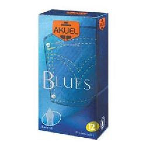 PROFILATTICO ANSELL AKUEL MANIX BLUES B 12 PEZZI