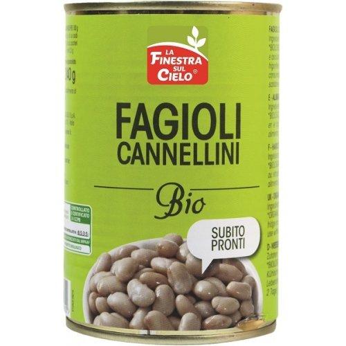 FAGIOLI CANNELLINI PRONTI BIO 400 G