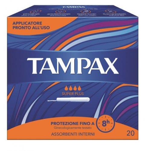 TAMPAX BLUE BOX SUPER PLUS 20 PEZZI